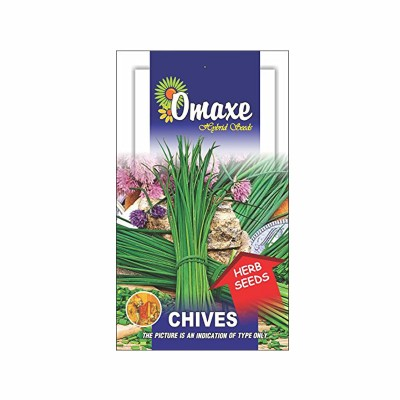 Omaxe Chives Herb Seeds (30 Seeds)