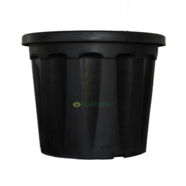 Blossom Pot Black 18 inch (Pack of 2)