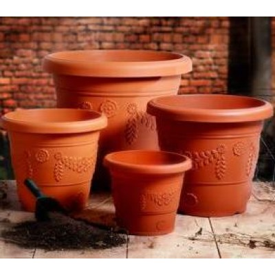 All Plastic Pots