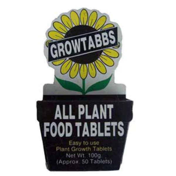 Grow Tab Organic Plant Booster - Organic Fertilizer 100 Grams