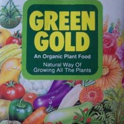 Green Gold Organic Fertilizer - Plant Booster 500 Grams
