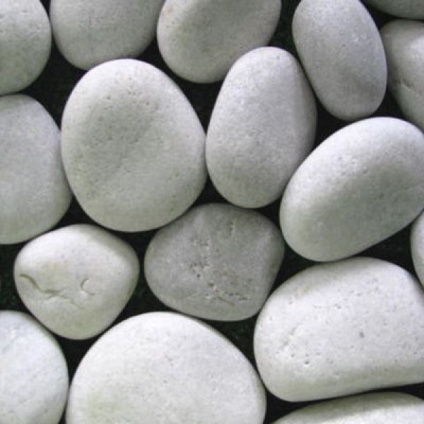 Big Pebbles White