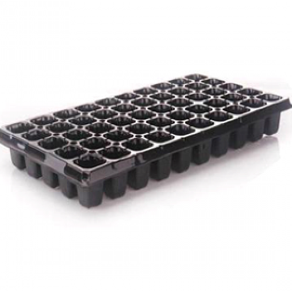 Germination (Seedling) Tray Reusable Square 60 Cells (Pack Of 5)