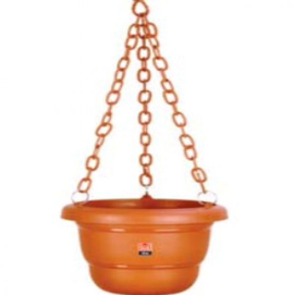 Green View Planter+chain (Pack of three)