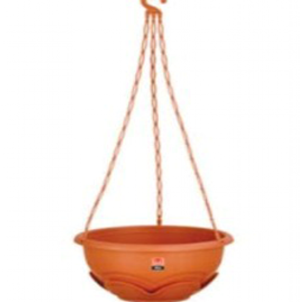 Lotus Planter+chain big (Pack of three)