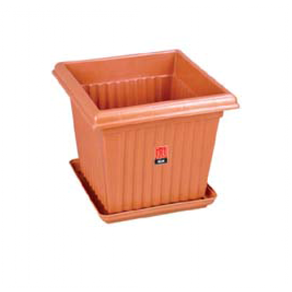 Square Planter No. - 12 (Pack of Three)