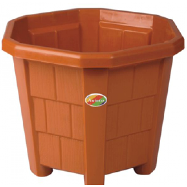 Hexa Planter  No. - 7(Pack of Three)