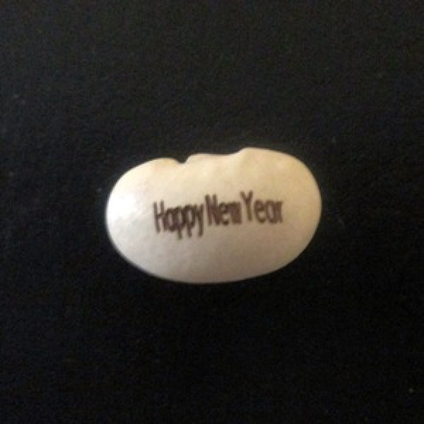 Happy New Year Magic Beans(pack of two beans)