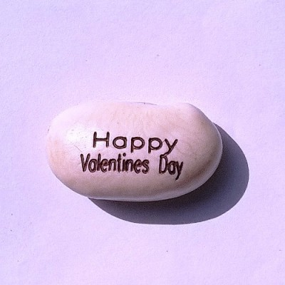 Happy Valentine Day Magic Beans (Pack of two Beans)