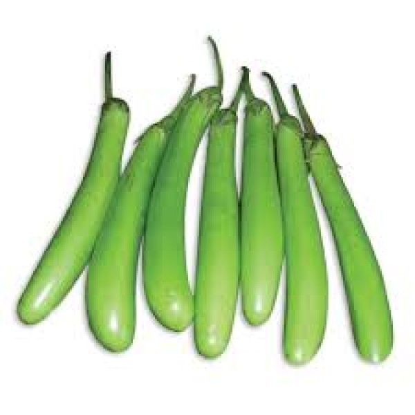 Omaxe Brinjal F1 Hybrid Green Long seeds
