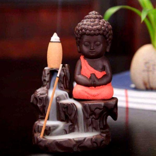 Garden Fountain With Mon Buddha