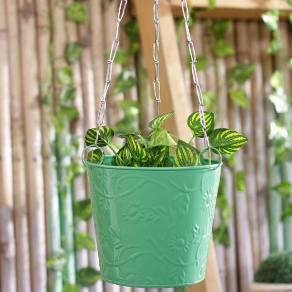 Green Balcony Hanging Bucket