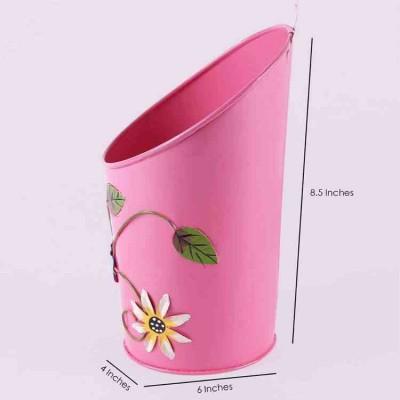Pink Half Moon Planter