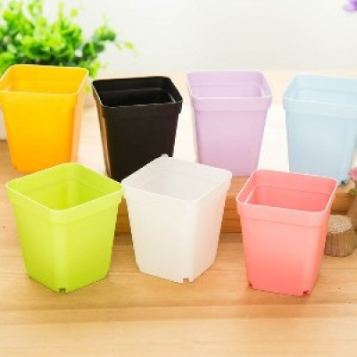 Colorful Plastic Planters